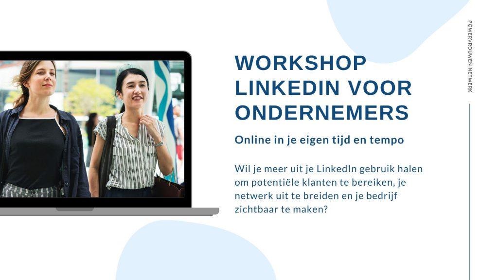 WORKSHOP linkedin voor ondernemers