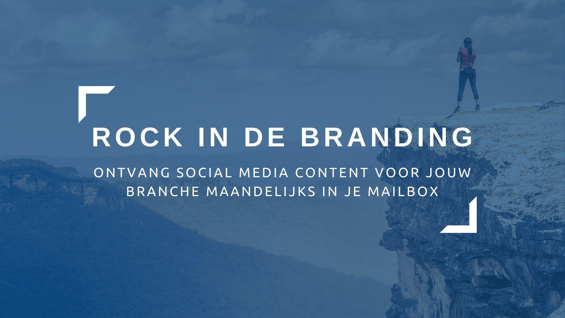 rock in de branding powervrouwen netwerk social media abonnement